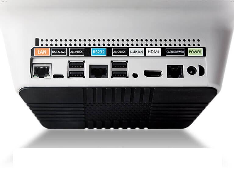caisse tpe intégré pax E700