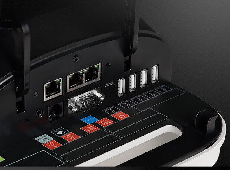 caisse et tpe intégré pax E800